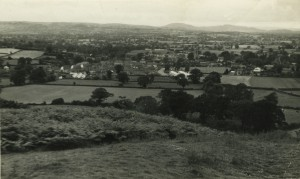PONTESBURY FROM PONTESFORD HILL