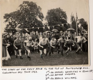 Pontesbury 1953 hill race (coronation) 2 (2)