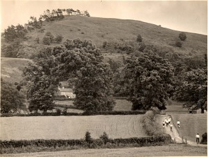 Pontesbury 1953 hill race (coronation)